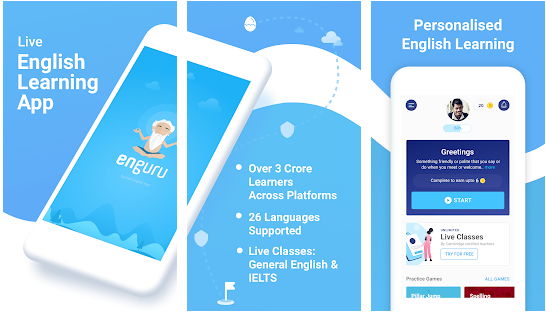 indian english learning app, best indian english learning app